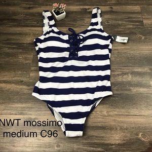 NWT mossimo stripe one piece swim